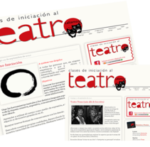 Laliamos Teatro . A Illustration, Br, ing, Identit, Editorial Design, and Graphic Design project by Eva Ruiz - 04-10-2016