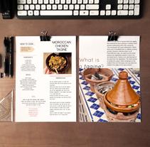 Maquetacion de receta. A Graphic Design project by Elena Barroso Sanz         - 09.05.2016