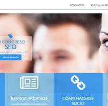 SEO (Sociedad Española de Oftalmología). A Br, ing&Identit project by Eva García Jiménez - 30-04-2013