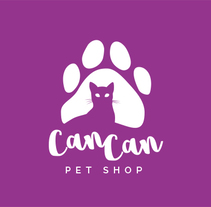 Can Can Pet Shop. A Br, ing, Identit, and Design project by Luis Torres  - Sep 04 2016 12:00 AM