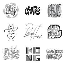Hecho a Mano (lettering, monogramas y logos). Un proyecto de Br, ing e Identidad, Tipografía y Caligrafía de Quique Ollervides - 16-10-2014