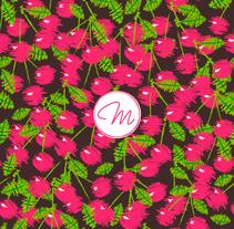 Pink Cherries. Un proyecto de Ilustración de Marta Girabal Montaner         - 26.10.2016