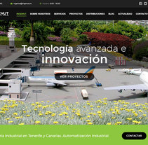 Web Design and Development INGENUT. Multilingual site.. A Photograph, Br, ing, Identit, Web Design, and Web Development project by Beatriz Chaves Bueno - 01-11-2016