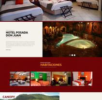 Pagina web - Posada de Don Juan. A Web Design project by Josue Muñoz Echeverría         - 02.11.2016