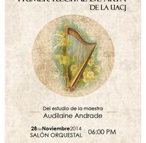Recital de Arpa . Un proyecto de Diseño editorial de Mayte Molina         - 14.11.2014