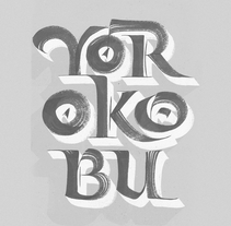Yorokobu Magazine Cover. A Calligraph project by Joan Quirós - 06-11-2016