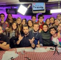 Cámara de vídeo del programa Yu no te pierdas nada de Dani Mateo. Um projeto de Vídeo e TV de Kilian Figueras Torras - 06-11-2014