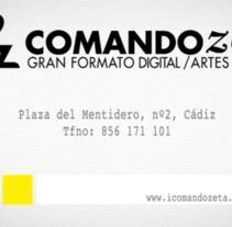 Spot Comando Zeta. Um projeto de Publicidade, Motion Graphics, Cinema, Vídeo e TV e Pós-produção de Javi de Lara         - 04.05.2010