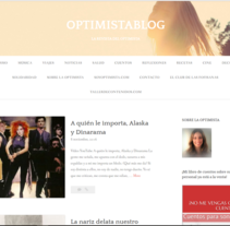 Optimistablog. A Writing project by Olivia  Gracia Rodríguez         - 15.11.2016