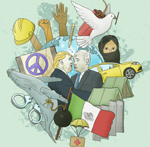 Ilustración para Prensa: Cambio 16. Un proyecto de Diseño, Ilustración, Diseño editorial y Diseño gráfico de Carlos Vicente Punter - 23-11-2016