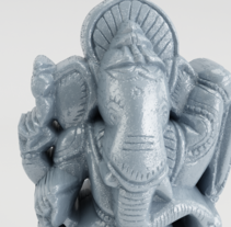 Ganesha. A 3D project by Junior Bonaguro         - 24.11.2016