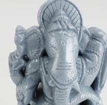 Ganesha. A 3D project by Junior Bonaguro         - 24.11.2016