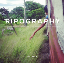 Tripography SRI LANKA. A Photograph, Graphic Design, T, pograph, and Collage project by DMcreatividad          - 30.11.2016