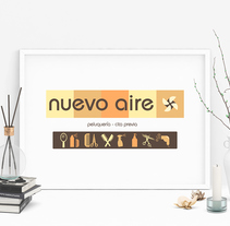 Nuevo Aire - Identidad Corporativa. A Advertising, Br, ing&Identit project by Irene Fernández Arcas         - 01.09.2015