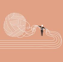 Música traducida. Un proyecto de Ilustración, Diseño editorial y Diseño gráfico de Juan Jareño  - 01-12-2016