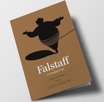 Falstaff, de Giuseppe Verdi. Un proyecto de Diseño editorial y Diseño gráfico de Juan Jareño  - 02-12-2016