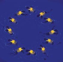 Europe Flag. Um projeto de Ilustração e Artes plásticas de Isem Garcia Massana - 14-12-2016