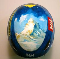 Casc Matterhorn. A Illustration, Fashion, Fine Art, and Street Art project by Isem Garcia Massana - 14-12-2016
