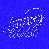Selección de letterings 2016. A Design, Graphic Design, T, and pograph project by Estudio Santa Rita  - 15-12-2016