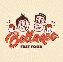 Bellance Fast Food. Un proyecto de Br e ing e Identidad de Máximo Alcántara - 24-11-2016