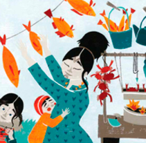 La pequeña inuk. Un proyecto de Ilustración de Dàlia Adillon - 05-01-2017
