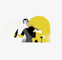 New Flavour . Un proyecto de Ilustración de Dani  Montesinos - 11-01-2017
