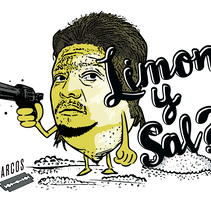 Limon y Sal? . A Illustration, and Art Direction project by Matias Bravo         - 12.01.2017