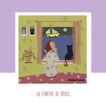 La fenêtre de rêves. Um projeto de Ilustração de Valentina Urdaneta Urdaneta - 29-12-2016
