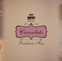 Diseño de logo e identidad corporativa para Cioccolato. Un proyecto de Br e ing e Identidad de jaime florian arias         - 18.01.2017