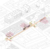Intervención en el comercio de Barrio. Um projeto de Arquitetura, Br, ing e Identidade e Infografia de Manuel Calvo Martínez         - 30.06.2014