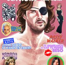Fanzine para Chicas &Maricas #4. A Editorial Design project by Julián Almazán         - 22.01.2017