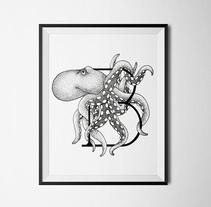 Abecedario ilustrado. Um projeto de Design, Ilustração, Direção de arte e Artes plásticas de maria lluveras serra         - 29.01.2017