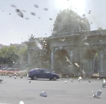 Mírala mírala VFX. Un proyecto de 3D, Vídeo y VFX de Gonzalo Tizón Álvarez         - 31.01.2017