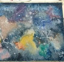 Mi Proyecto del curso: Técnicas modernas de Acuarela. A Painting project by David Alcubierre - 04-02-2017