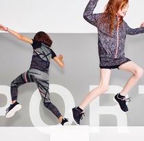 Girls Sporty Winter 15/16. Un proyecto de Diseño, Ilustración, Moda y Diseño gráfico de nancynany - 31-08-2015
