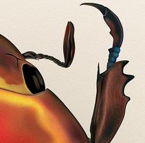 Chrysina Aurigas roja. Um projeto de Ilustração de Vicente Gómez Alfonso         - 15.07.2015