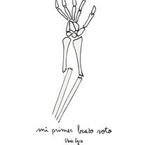 """""""Mi primer brazo roto"""". A Comic project by Usue Egia         - 06.02.2017"""