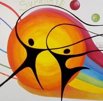 """TH, ya hemos terminado uno de nuestros proyectos de pintura mural con """"Proyecto cometa"""" en la Parroquia La Paz del distrito norte de Granada.(Painting process). Um projeto de Artes plásticas, Arquitetura da informação, Arquitetura de interiores e Arte urbana de Esther Martínez Recuero         - 31.01.2017"""