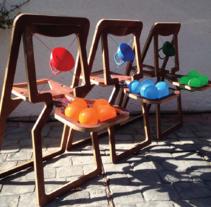 Kaboom: Juego diseñado para la rehabilitación de niños con problemas motores. Un proyecto de Diseño de juegos, Diseño industrial y Diseño de producto de Magdalena Alzerreca Letelier         - 11.02.2017