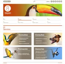 Web para la consutoría veterinaria Yolcati. Un proyecto de Desarrollo Web de rseoaneb - 15-01-2013
