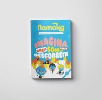 Revista Infantil Namaka: portada e infografía. A Illustration, and Editorial Design project by Tone S. Capel - 13-02-2017
