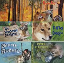 Mi ilustraciones de libros infantiles como los de Henry Grossek y otros. Un proyecto de Ilustración de Magdalena Almero Nocea         - 14.02.2017