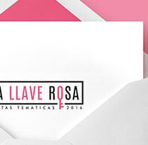 La Llave Rosa. Um projeto de Design e Design gráfico de San Gráfico         - 15.02.2017