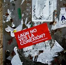 ESCAC / Campaña de guerrilla  . Um projeto de Publicidade e Design gráfico de Alicia Gallego         - 14.09.2009