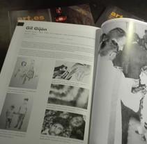 Artículo revista Art.es. A Graphic Design project by Gil Gijón         - 28.02.2016