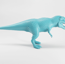 T-Rex ESTATUAS. Um projeto de 3D de ENMANUEL RONDON         - 20.02.2017
