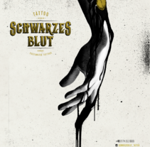 Schwarzes Blut Tattoo . A Illustration, and Graphic Design project by Ari B. Miró - 21-02-2017