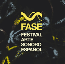 FASE - Festival de Arte Sonoro Español. A Design project by Enrique Rivera - 21-07-2016