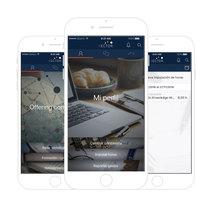 Vector Digital mobile app. Um projeto de Design e UI / UX de Alejandro Gómez Naranjo         - 21.02.2017