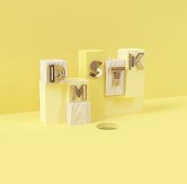 DOMESTIKA 500K. Um projeto de Ilustração e 3D de Yolanda Hache         - 23.02.2017